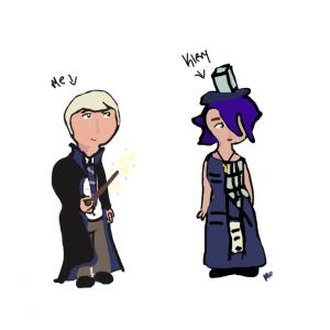 why yes, I am dressed as Draco Malfoy.